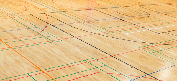Wood Gym Sports Floor Installations Crown Sports Floors
